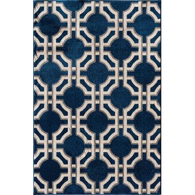 Bilbania Blue Area Rug Rug Size: Rectangular 710 x 910