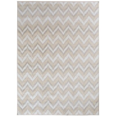 Wideman Beige Area Rug Rug Size: Rectangle 53 x 74