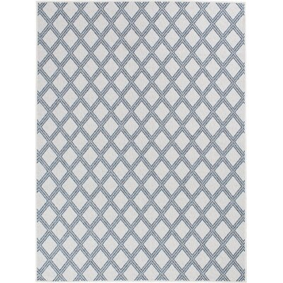 Almeda Diamond Gray Area Rug