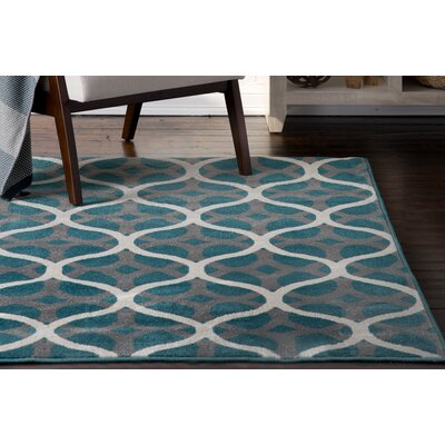 Cordova Blue/Gray Indoor/Outdoor Area Rug