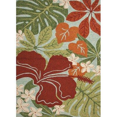 Jaipur Rugs Coastal Floral Indoor / Outdoor Area Rug - Rug Size: 2' x 3'