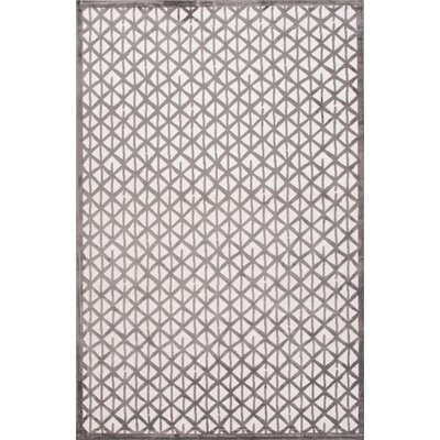 Fables Ivory/Gray Area Rug Rug Size: 5' x 7'6