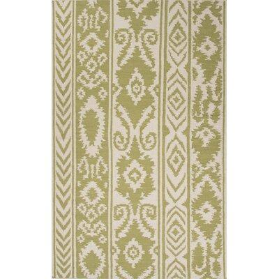 Jaipur Rugs Urban Bungalow Green/Ivory Rug - Rug Size: 5' x 8'