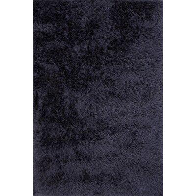 Verve Solid Blue Rug Rug Size: 9' x 12'