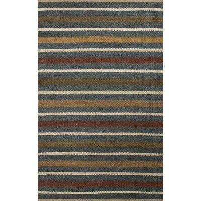 Shores Blue Rug Rug Size: 5' x 8'