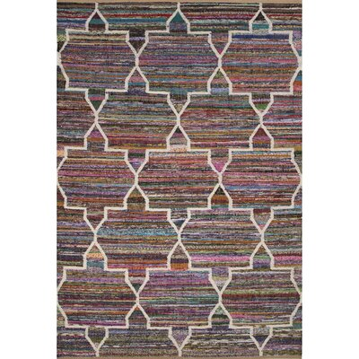 Darien By Rug Republic Recycled Flat Weave Area Rug Rug Size: 5'3
