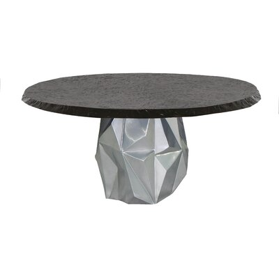 Cheap Aluminum Dining Table Arcadia - Product picture - 1583