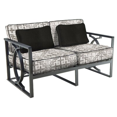 Kennerson Loveseat with Cushions 7CCCBE2D7A03453F82D7181E751B62AF