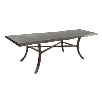 Select Classical Aluminum Dining Table - Product picture - 48