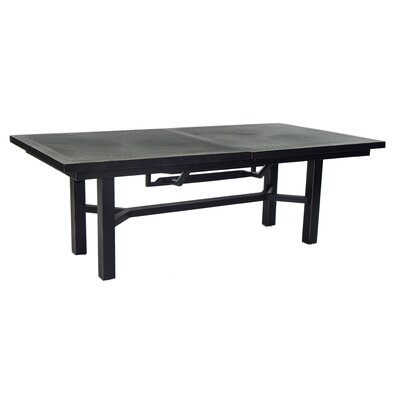 One of a kind Tarrance Classical Extendable Aluminum Dining Table - Product image - 10169