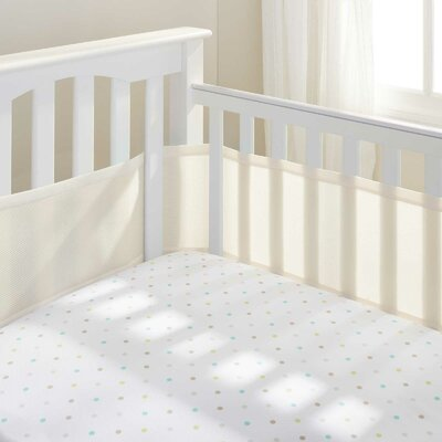 Breathable Baby Mesh Crib Bumper Liner