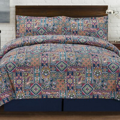 Tao 4 Piece Comforter Set Size: Full