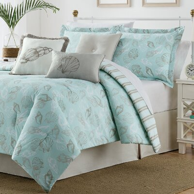 Seashell 7 Piece Duvet Set Size: King