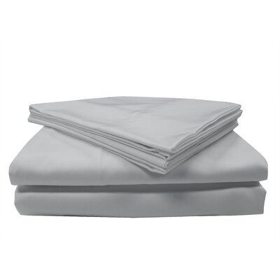 Nanotex 400 Thread Count Cotton Sateen Sheet Set Size: King