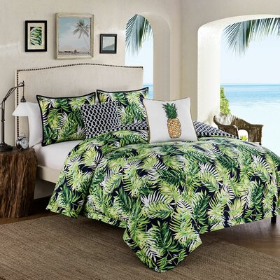 Reversible 5 Piece Comforter Set Size: King