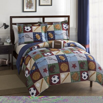 Gregg 3 Piece Comforter Set Size: Twin