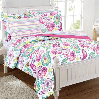 Jacklyn Paisley Comforter Set Size: Full