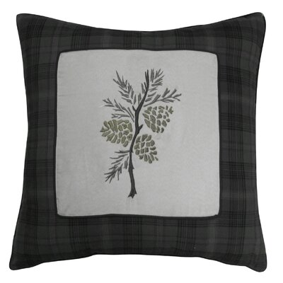 Barnwood Embroidery Decorative Throw Pillow