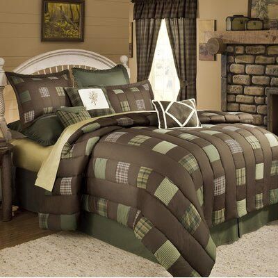 Barnwood 4 Piece Comforter Set Size: Full