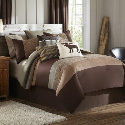 Stowe Creek 4 Piece Comforter Set Size: Full