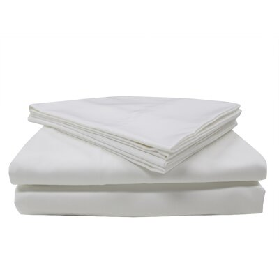 Nanotex 400 Thread Count Cotton Sateen Sheet Set Size: Queen