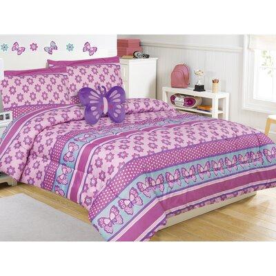 Emmalynn 3 Piece Comforter Set Size: Twin