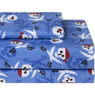 Pirates Juvi Print Sheet Set Size: Full