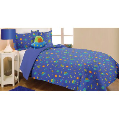 Reversible Comforter Set Size: Twin