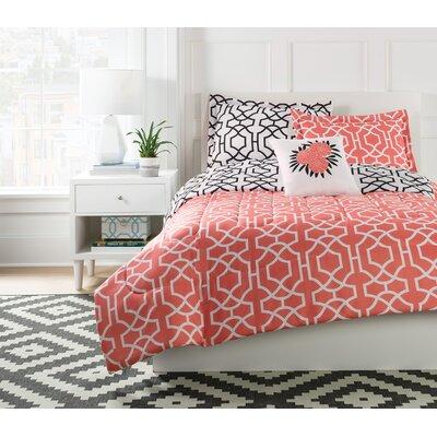 Anna Geo Comforter Set Size: Full