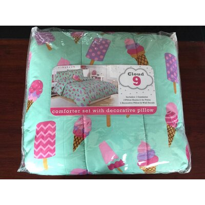 Frozen Treat Comforter Set Size: Twin