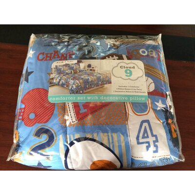 Sports Champs Comforter Set Size: Full