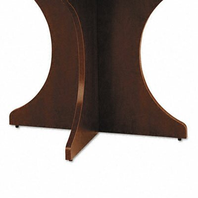 Valencia Series Desk Base Kit Finish: Mahogany Product Photo 3012