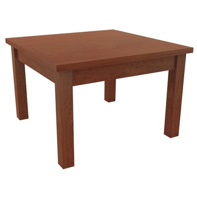 Valencia Series End Table Color: Medium Cherry