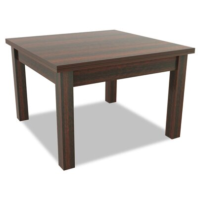 Valencia Series End Table Color: Mahogany
