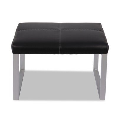 Reception Leather Lounge Series Ottoman