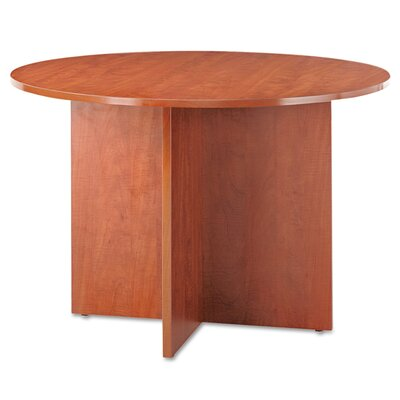 Valencia Circular 29.5H x 44.49W x 44.49L Conference Table Finish: Medium Cherry