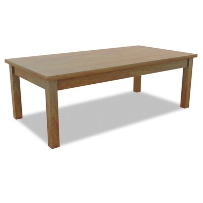 Valencia Coffee Table Color: Medium Cherry