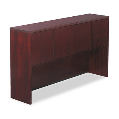 Verona Series 36.5 H x 65 W Desk Hutch Finish: Mahogany