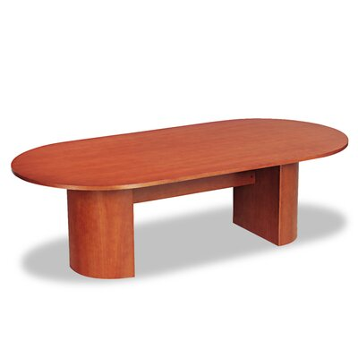 Verona Series Racetrack Conference Table Top Finish: Cherry