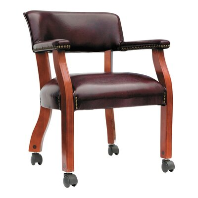 Century Series Guest Chair Casters/Glides: Included