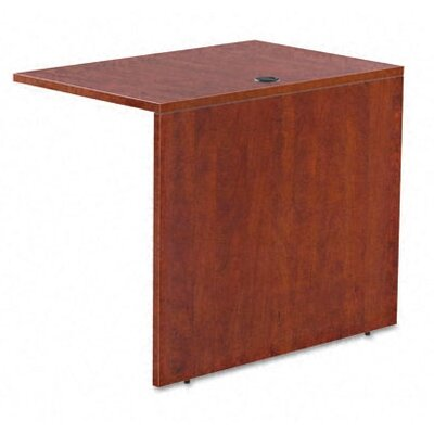 Valencia Series 29.65 H x 35.04 W Desk Bridge Finish: Medium Cherry
