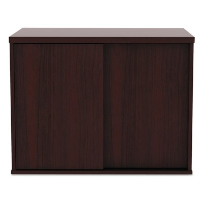 Tiernan Open Office Low Storage Cabinet Credenza Desk 652 Photo