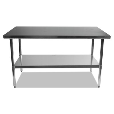 Umbra Stainless Steel Dining Table Size: 35 H x 60 W x 30 D