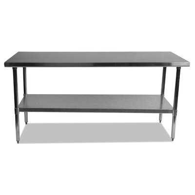 Umbra Stainless Steel Dining Table Size: 35 H x 72 W x 30 D