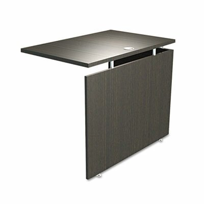 SedinaAG Series 29.5 H Desk Bridge and Connector Size: 29.5 H x 42 W x 23.63 D, Finish: Espresso