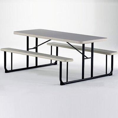 KI Furniture Valuelite Blow-Molded Picnic Table