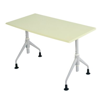 Trek Desk Size Training Table Finish Gray Size 24 H x 60 W