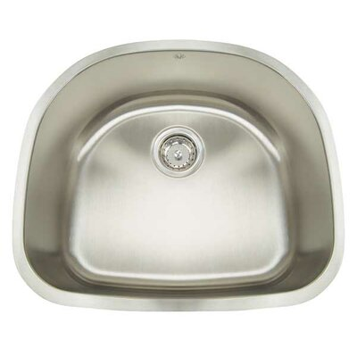 Premium Series 23.5 x 21 Undermount Single Bowl Kitchen Sink