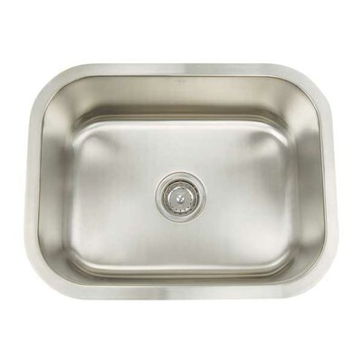Premium Series 23.125 x 18 Rectanglular Single Bowl Undermount Kitchen Sink