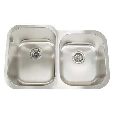 Manhattan Double Bowl Undermount Kitchen Sink